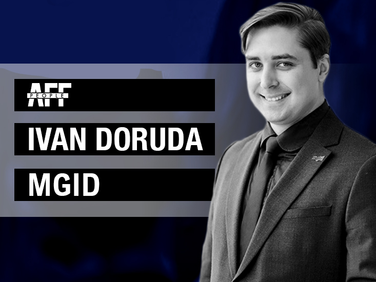 Ivan Doruda VP of Sales at MGID affpeople interview