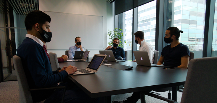 office Geoffrey Bonnechère CEO Reflex Affiliates Affpeople